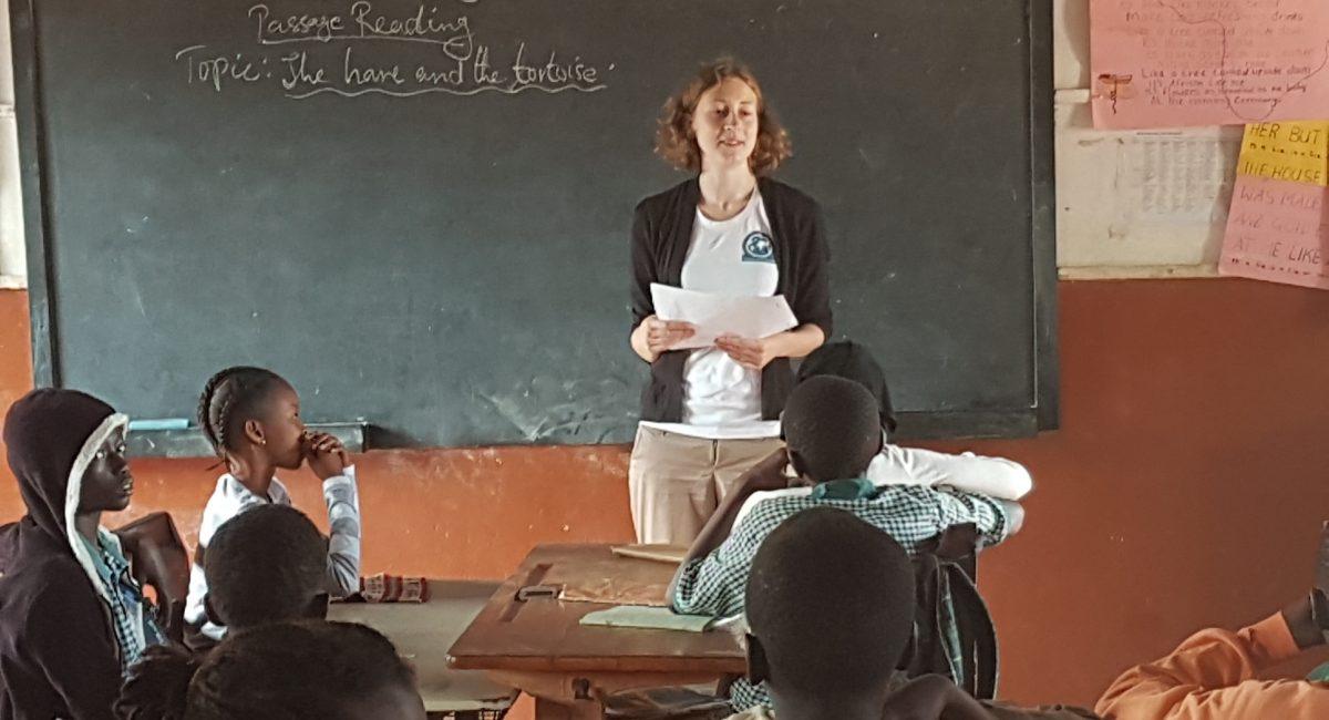 Unterricht in Brufut